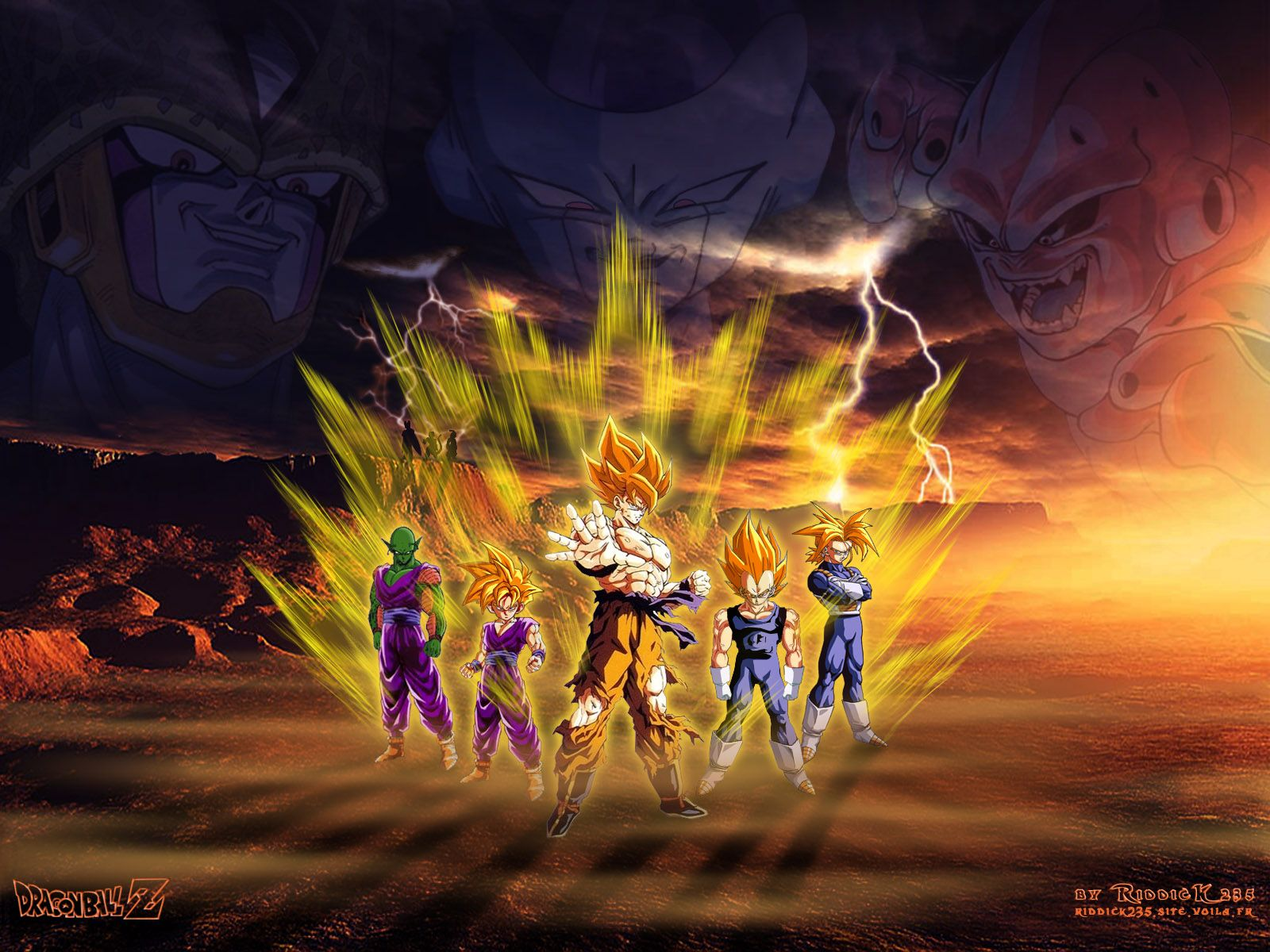 30 Pictures In High Quality Dragon Ball Z 3d By Basma Kunzelmann
