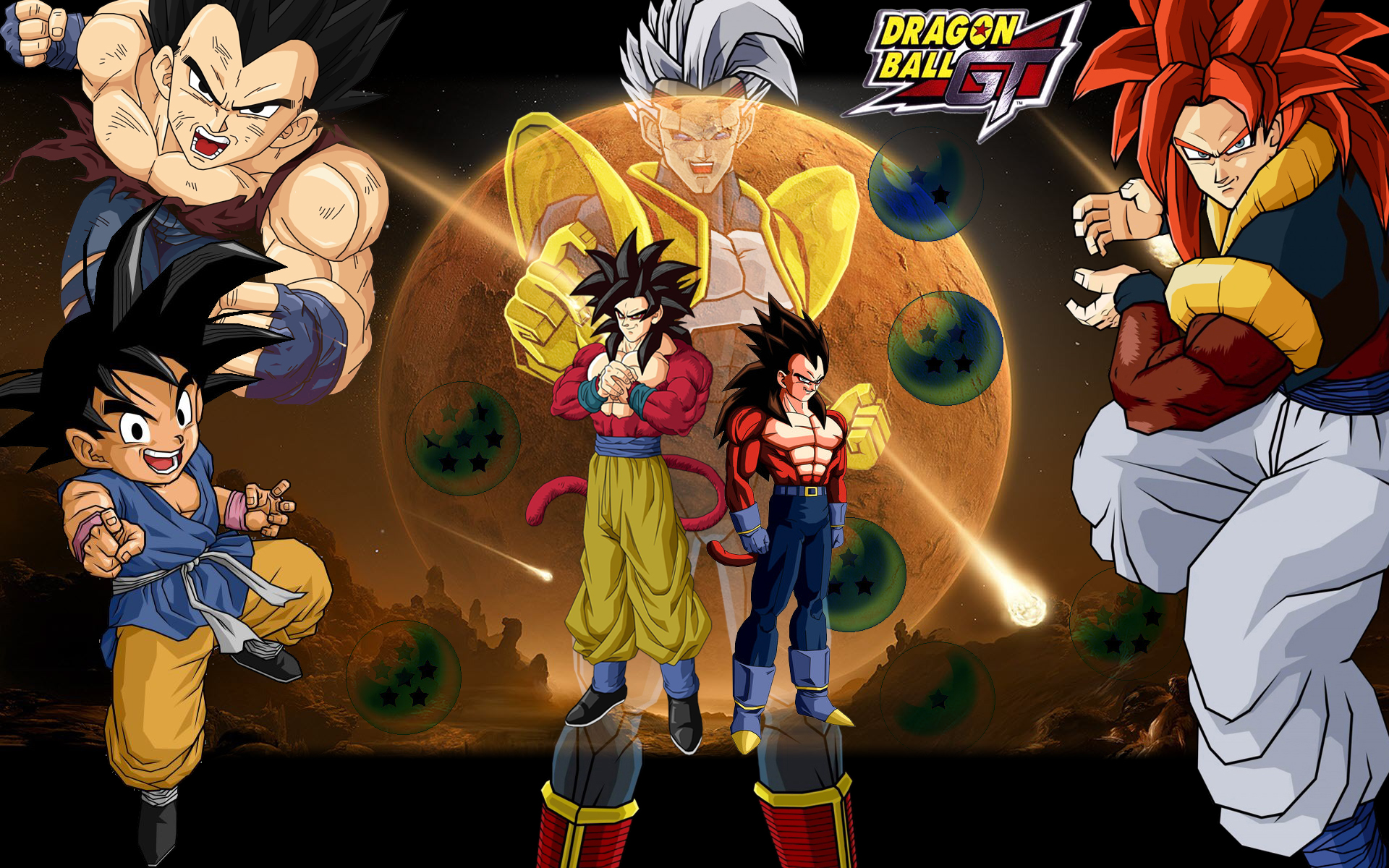 30 Amazing Dragon Ball Z Gt Wallpapers In High Quality Paulu Collens