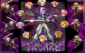Dragon Ball Z Trunks Wallpaper
