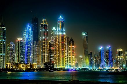 Wallpaper Dubai Night