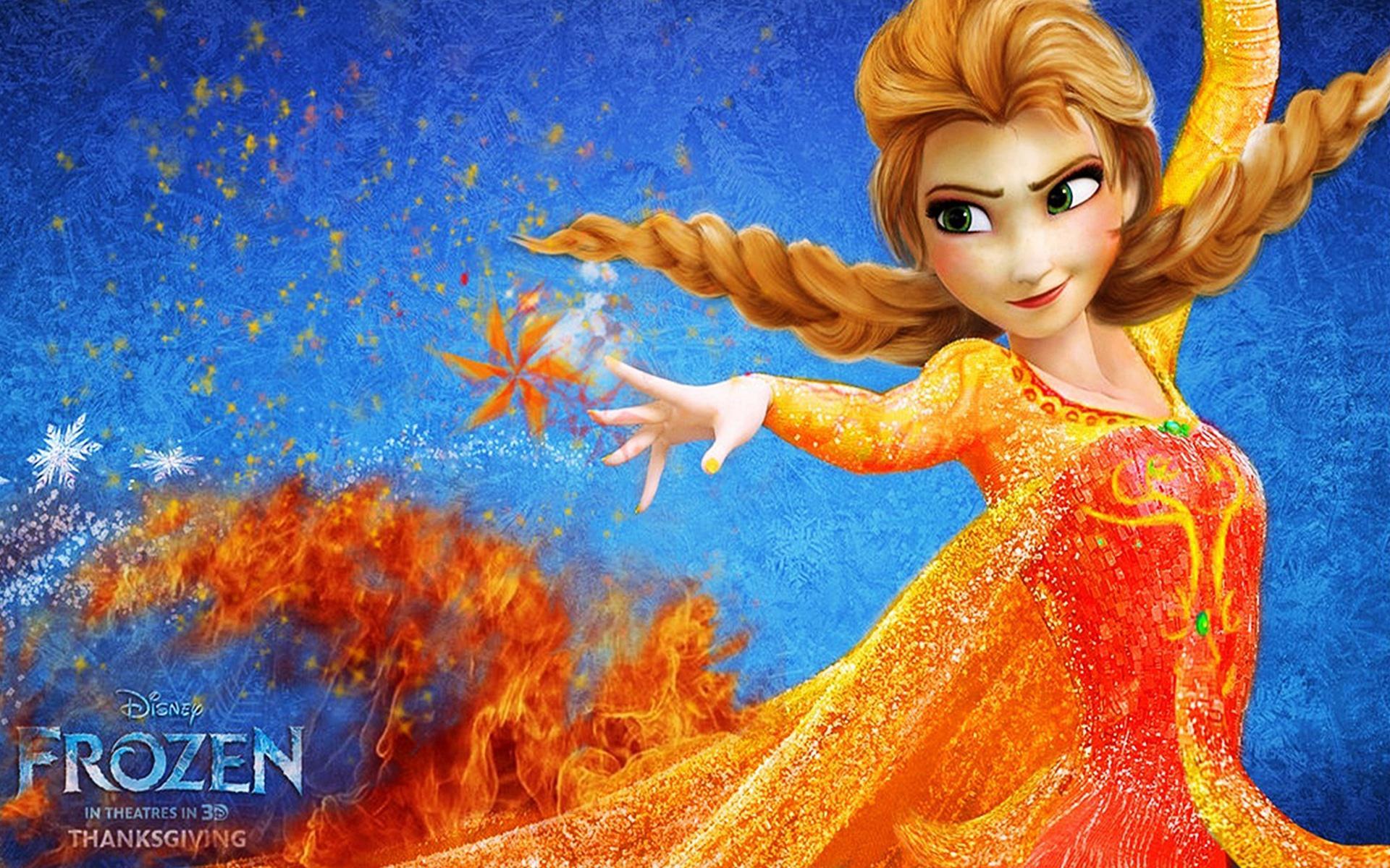 30 Elsa Frozen Wallpaper By Lorenzo Brimming Goldwall