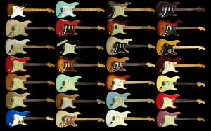 Wallpaper Fender Strat