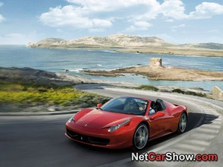 Wallpaper Ferrari 458 Spider