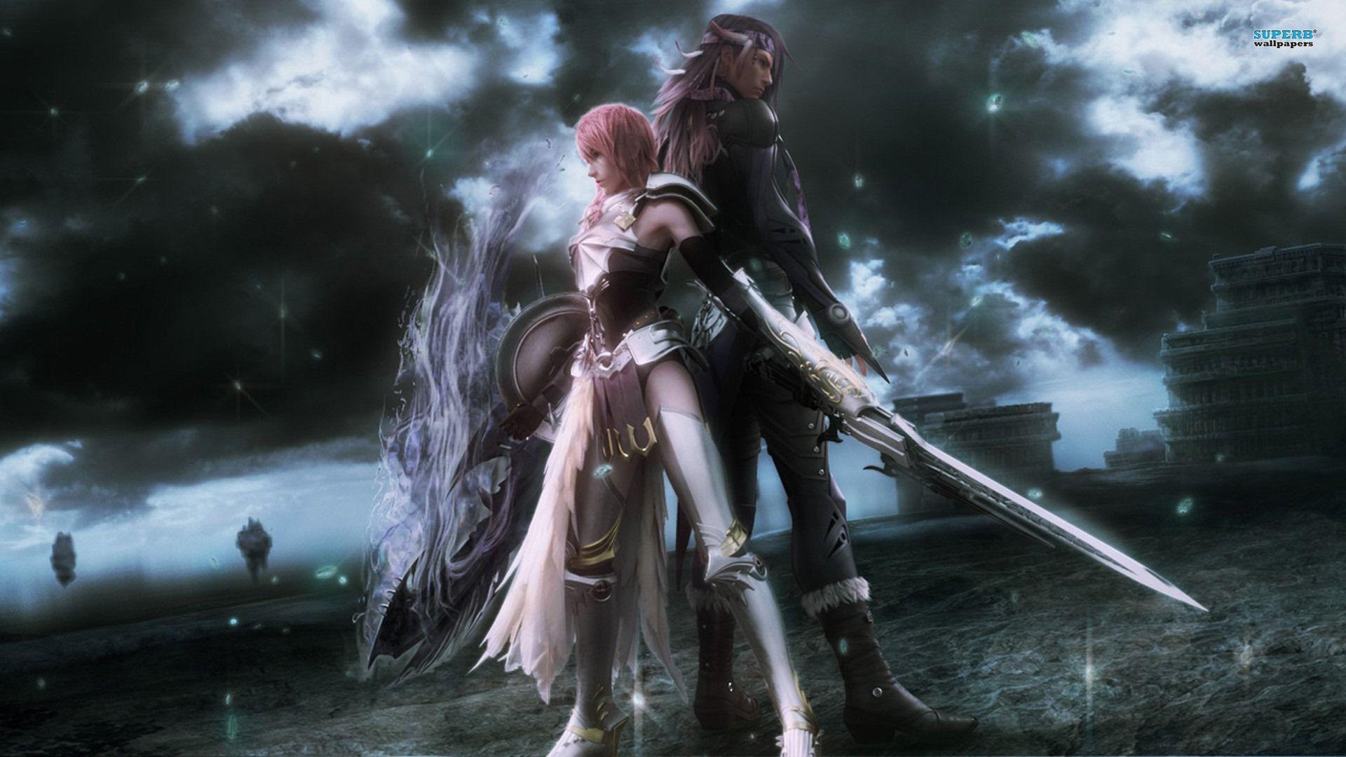 Free Cute Final Fantasy Xiii 2 Wallpaper