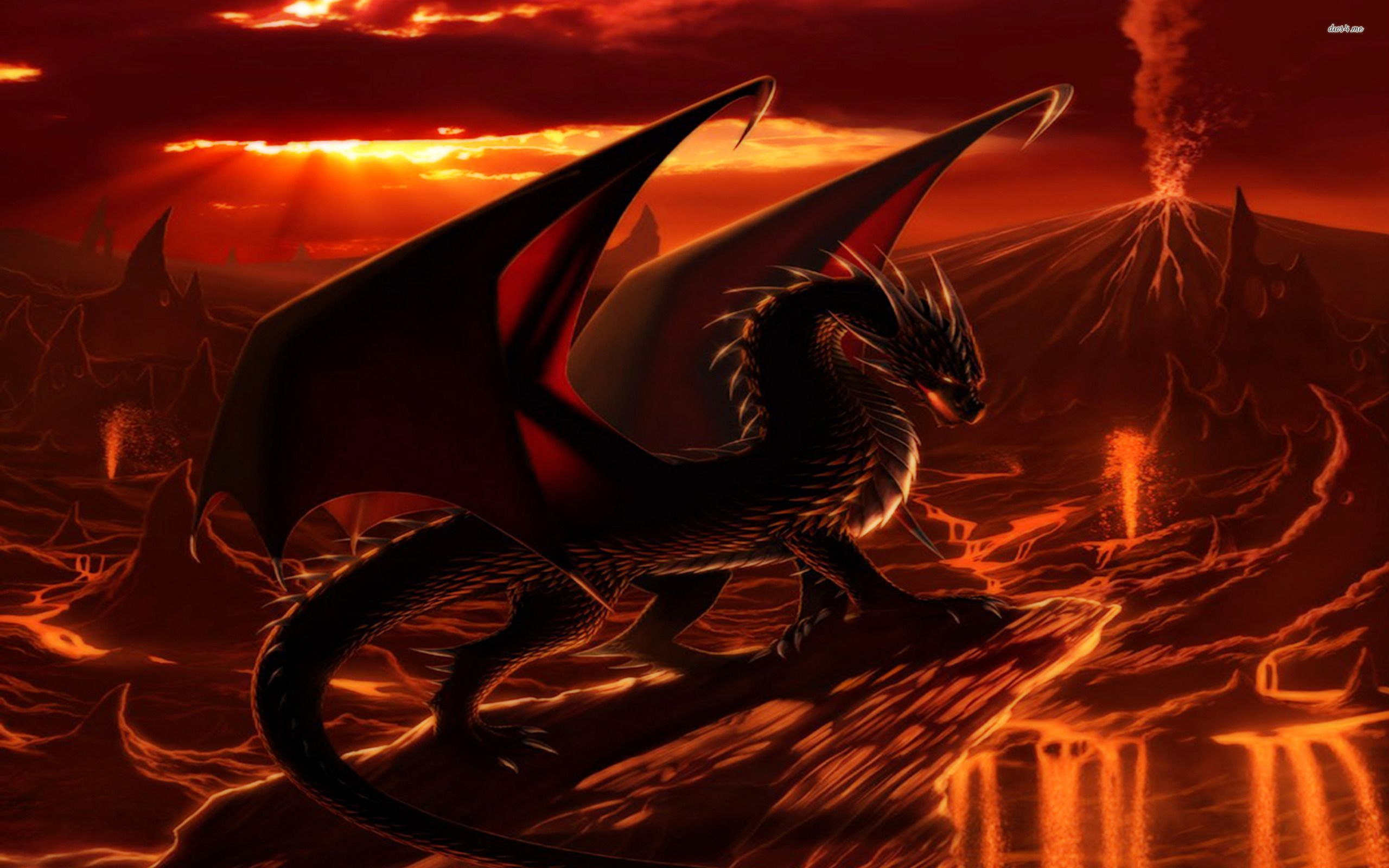 30 Images Of Fire Dragon In High Definition