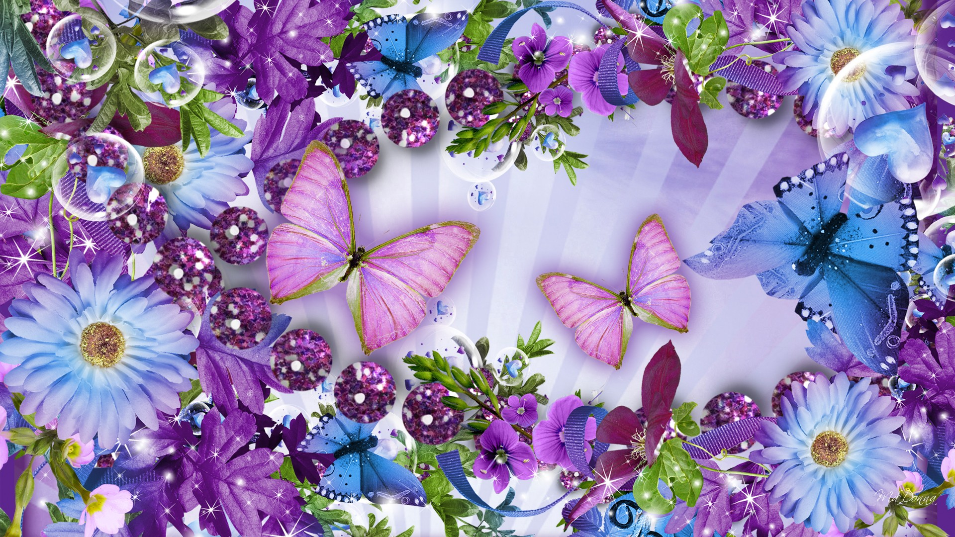 Flowers And Butterflies Photos Free Download By Kriemhilde Milbourn