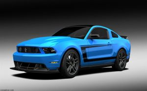 Ford Mustang Boss 302 Pic