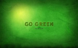 Go Green Wallpaper
