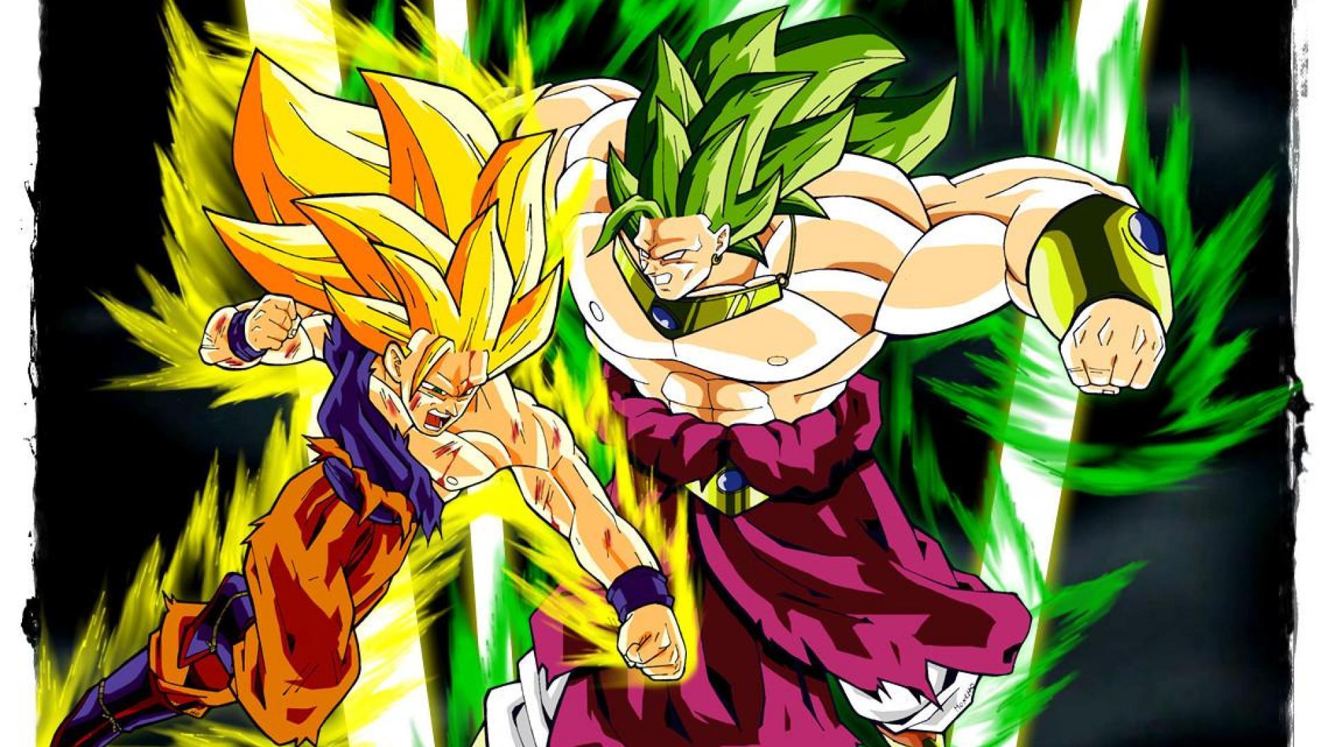 Goku Vs Broly Wallpapers High Resolution Backgrounds