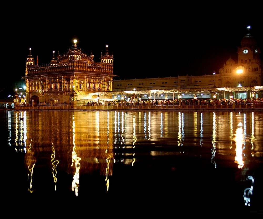 Widescreen Wallpapers Of Golden Temple, Creative Photo