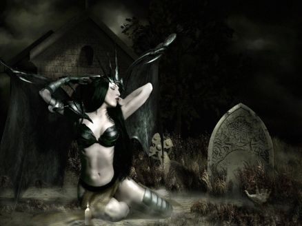 Gothic Woman Images