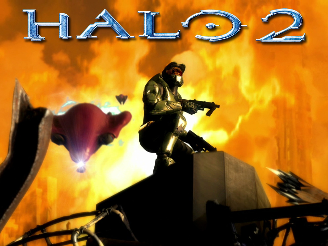 Halo 2 Wallpaper for Iphone