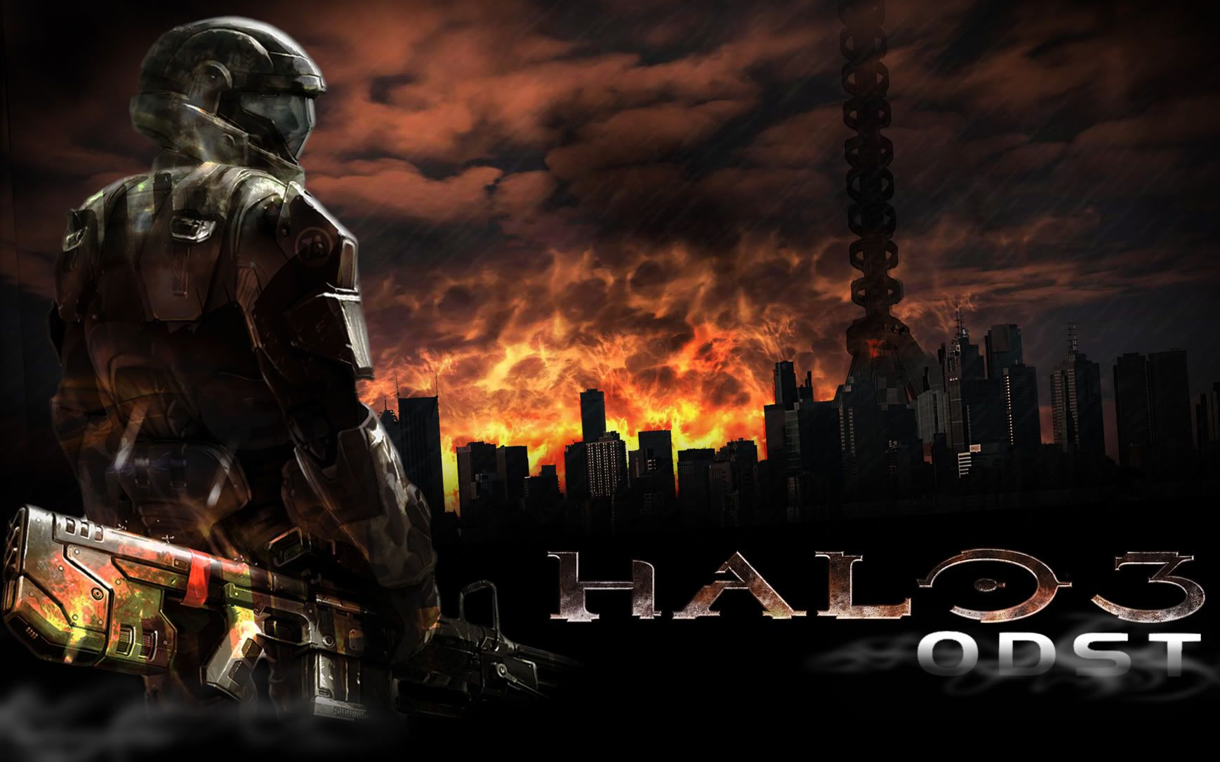 30 High Resolution Halo 3 Odst Wallpapers Celestine Emerine