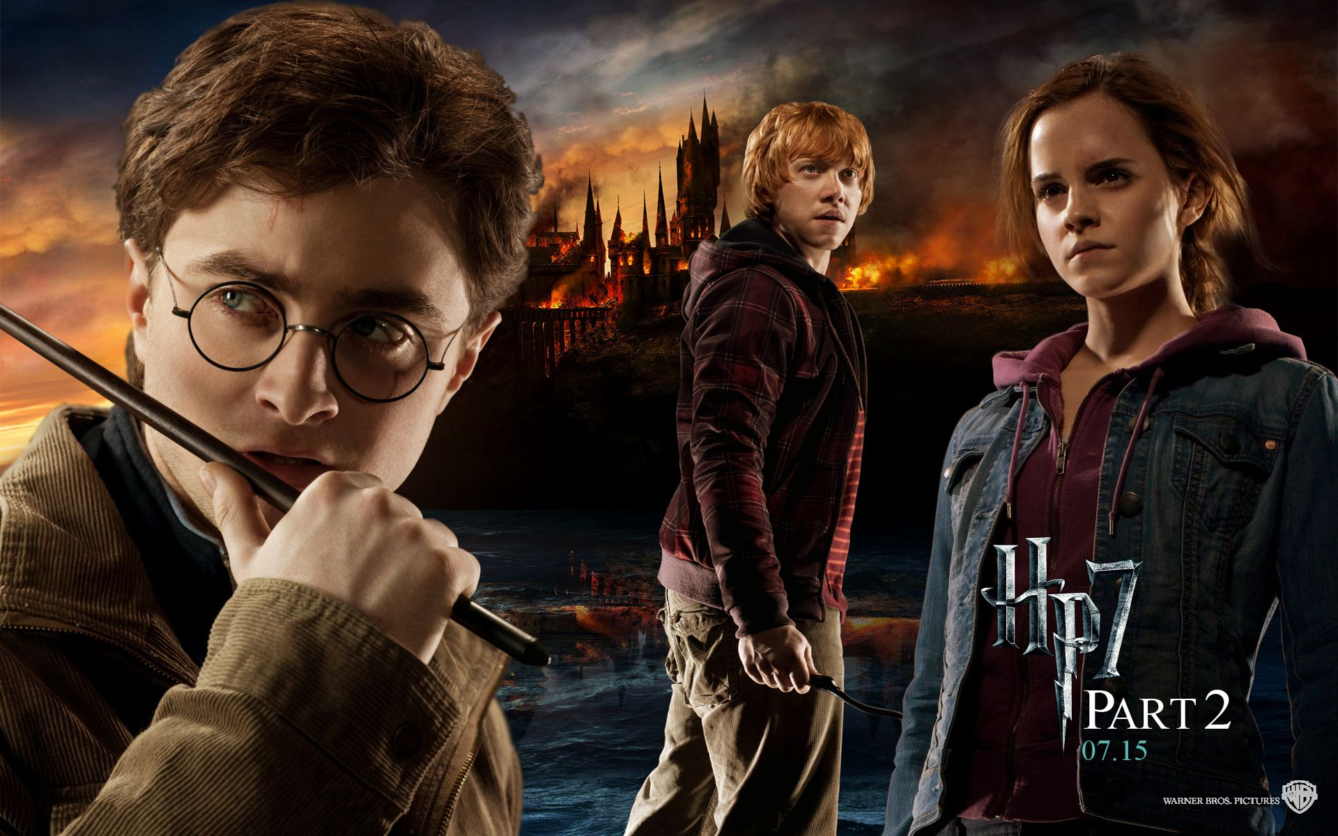 Free Best Harry Potter Deathly Hallows Wallpaper