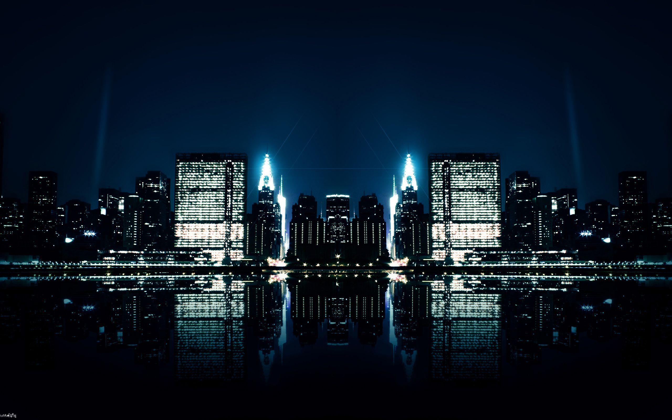 Stunning Night City Images