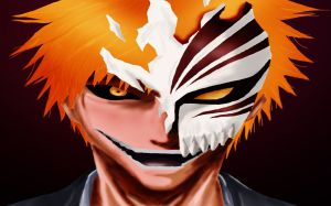 Ichigo Hollow Mask Photo