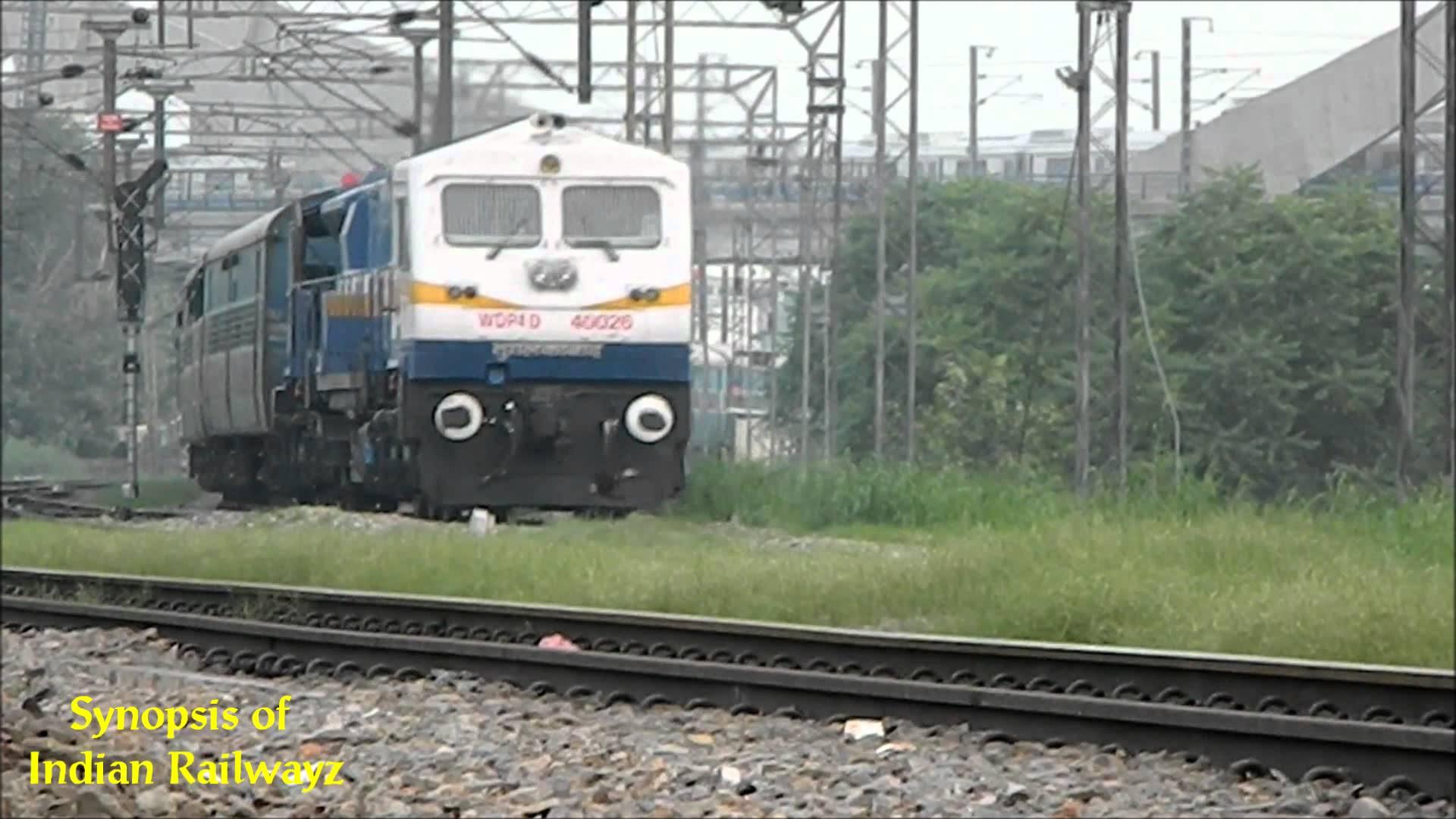 Indian Railway Train Hd Wallpaper