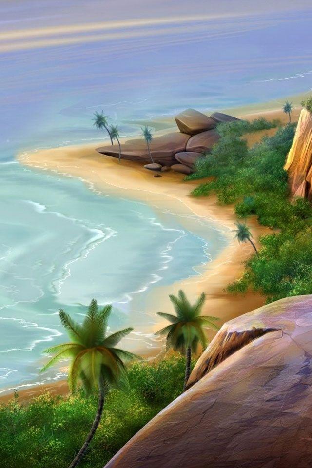 Beautiful Beach Wallpaper Hd Vertical wallpaper
