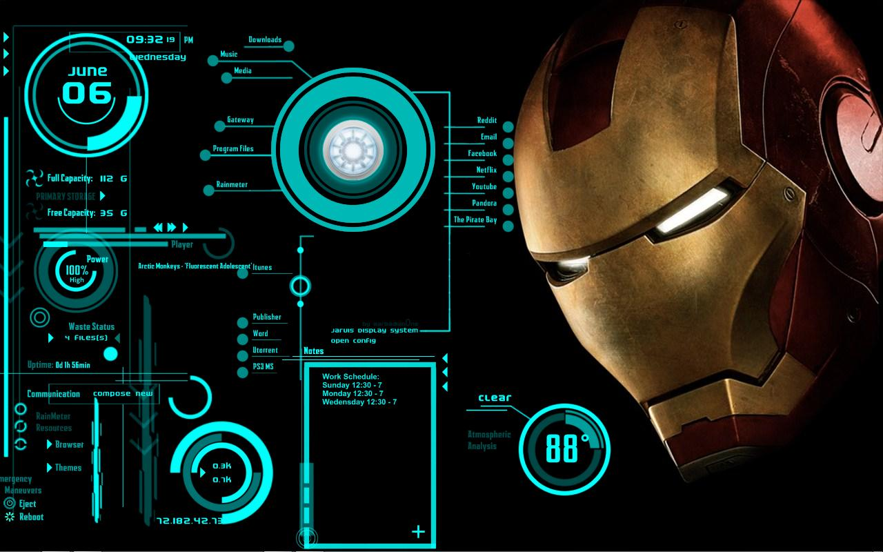 Hd Pictures Iron Man Jarvis Lolicia Collie