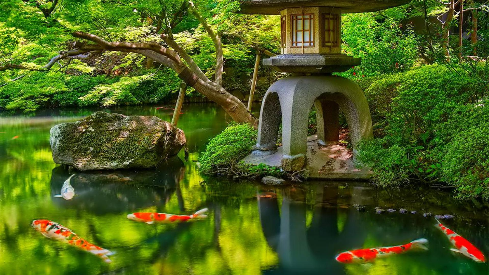 Ordinaire Japanese Garden Wallpaper