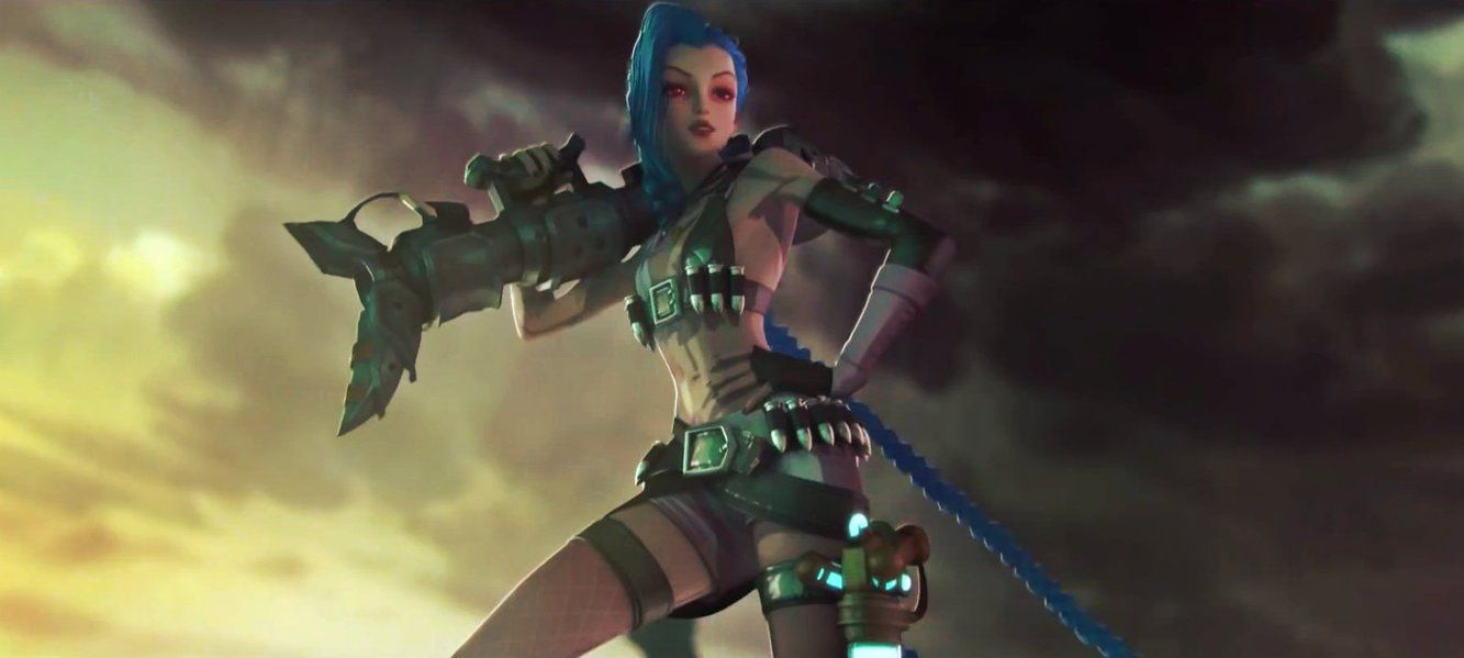 27 Beautiful Jinx League Legends Wallpapers Hd Widescreen