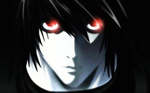 L Death Note Wallpaper