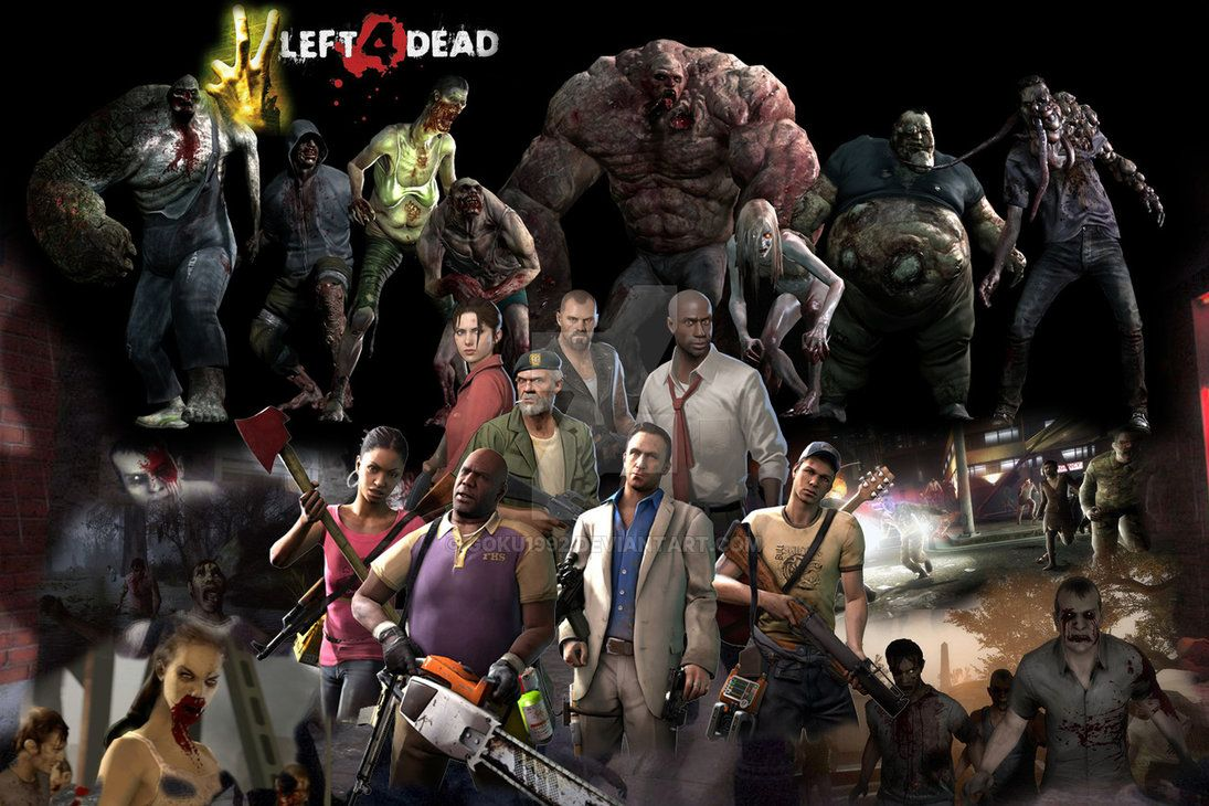 Left 4 Dead, HQ Definition Wallpapers For Free