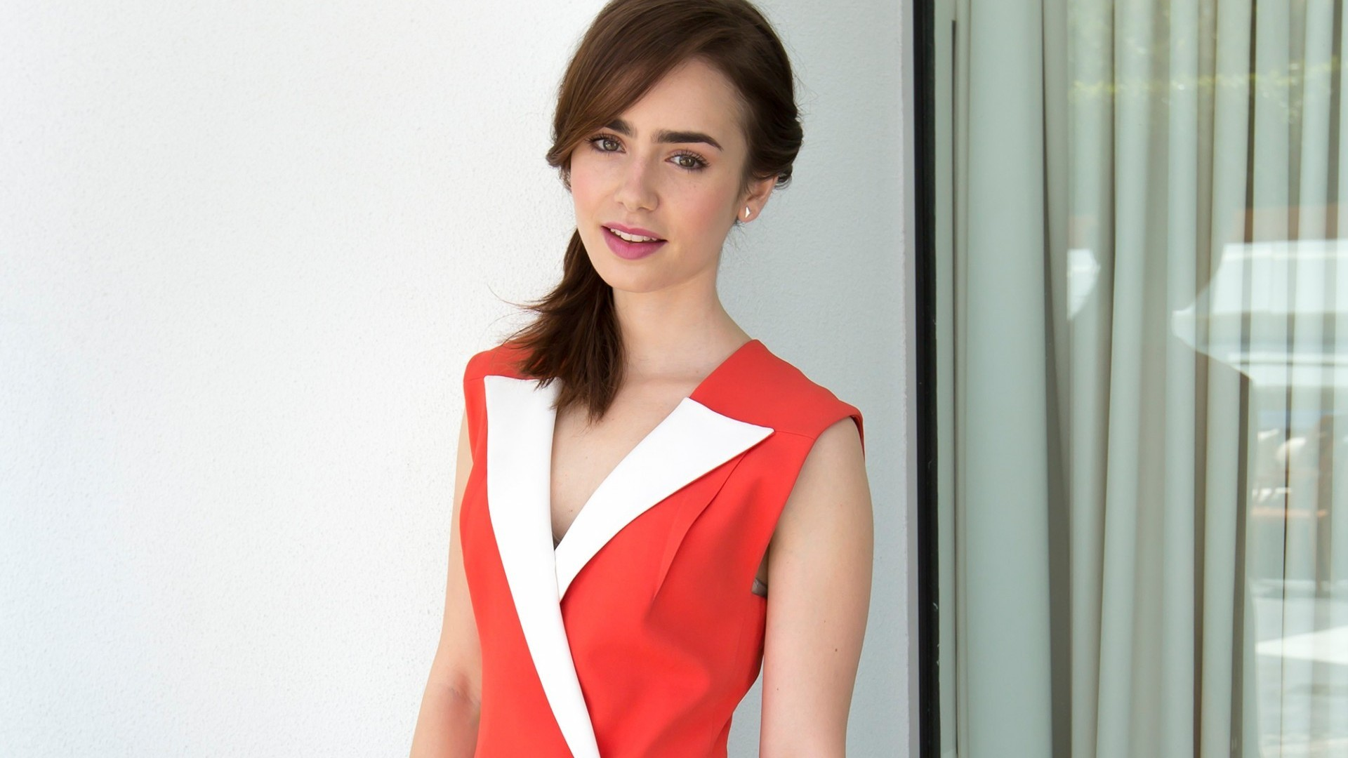 hqfx - lily collins - fine lily collins wallpapers