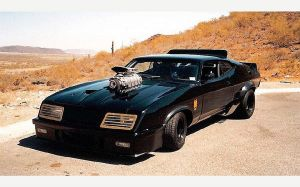 Mad Max Interceptor Pics