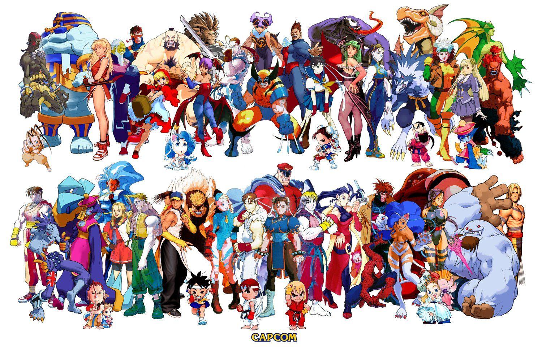 Marvel Vs Capcom 2 Wallpapers 4k Ultra Hd Wallpapers