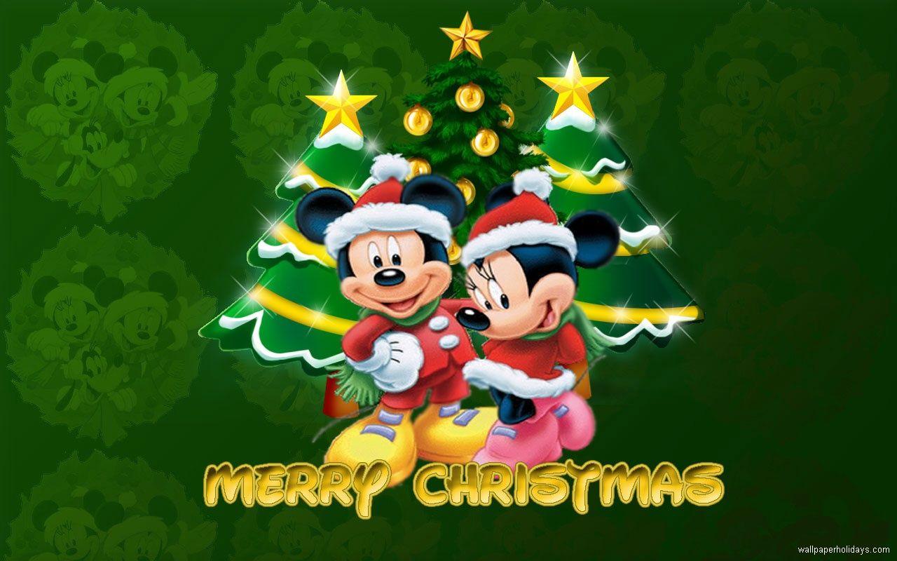 mickey christmas wallpaper 005