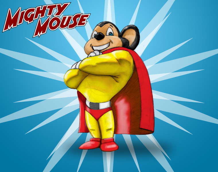 Hd Mighty Mouse 4k Background For Mobile