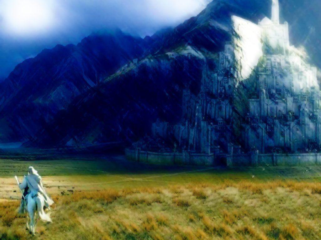 High Definition Minas Tirith Wallpaper 100 Quality Hd