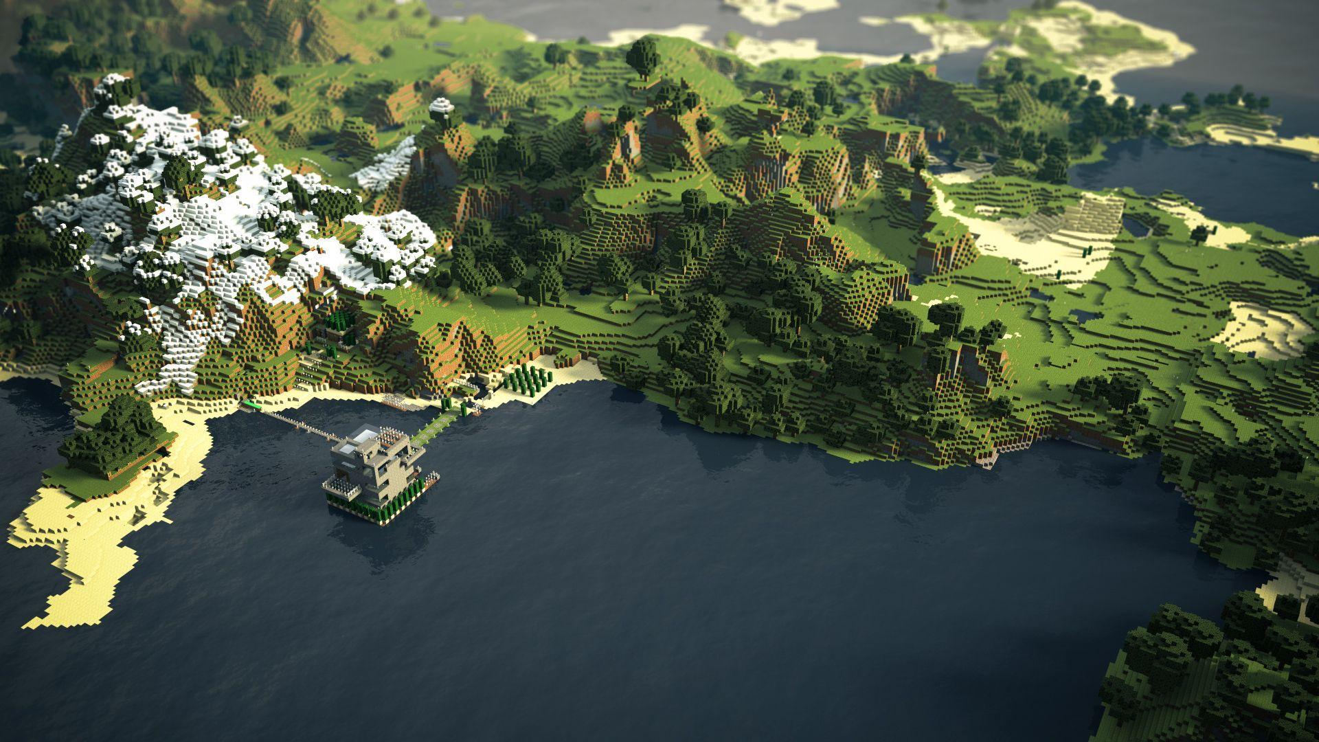 Pc Minecraft Wallpapers Carson Eykelhof