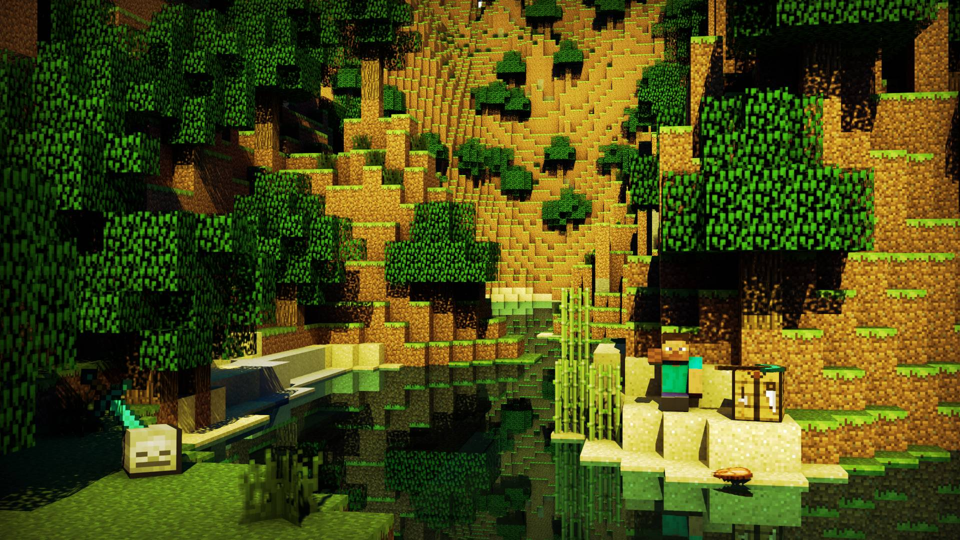 4k Ultra Hd Minecraft By Lynnette Lambole