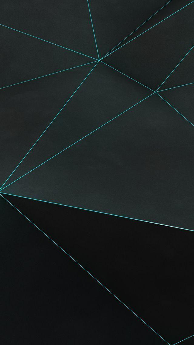 Minimalist Dark Geometric Wallpaper