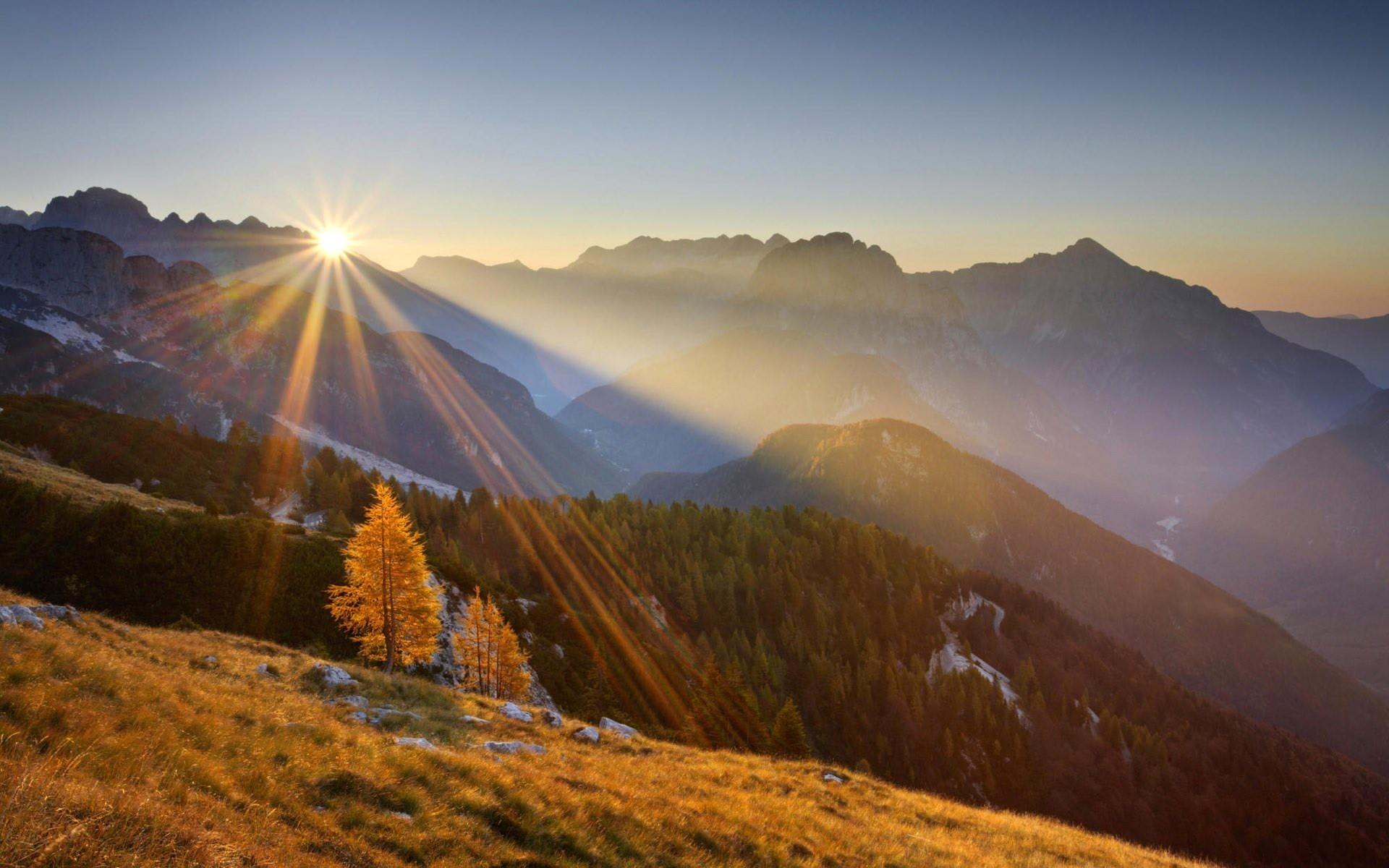 30 Mountain Sunrise Wallpaper By Caridad Gurner Goldwallpapers