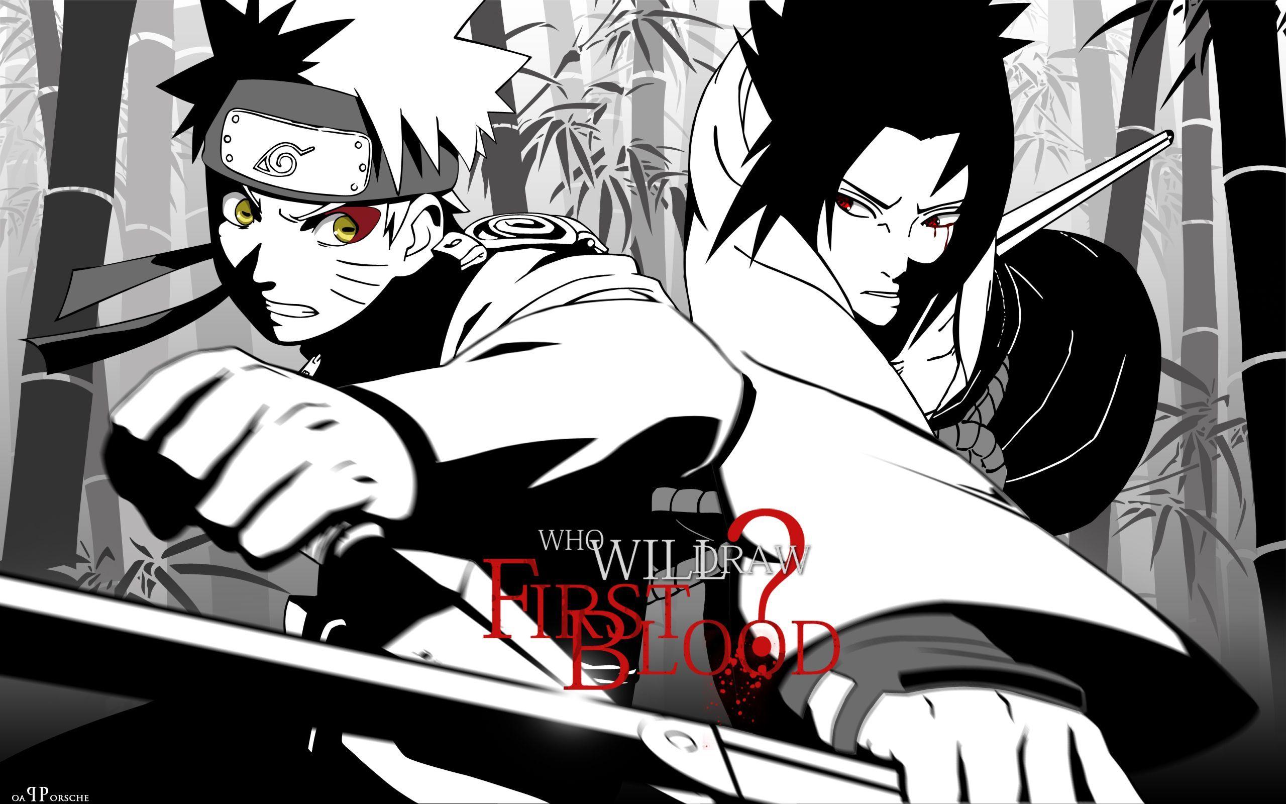 naruto vs sasuke wallpaper 009