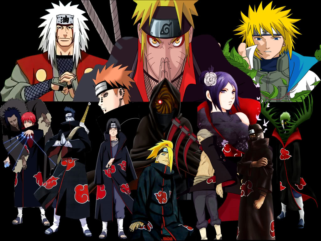 30 Naruto Backgrounds HQ Firdaus Minney
