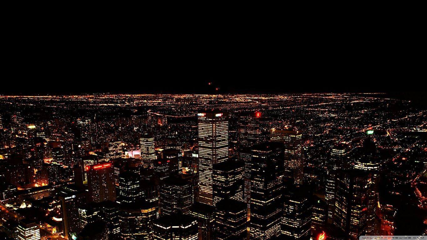 Mobile Night Cityscape Pictures - HD Widescreen