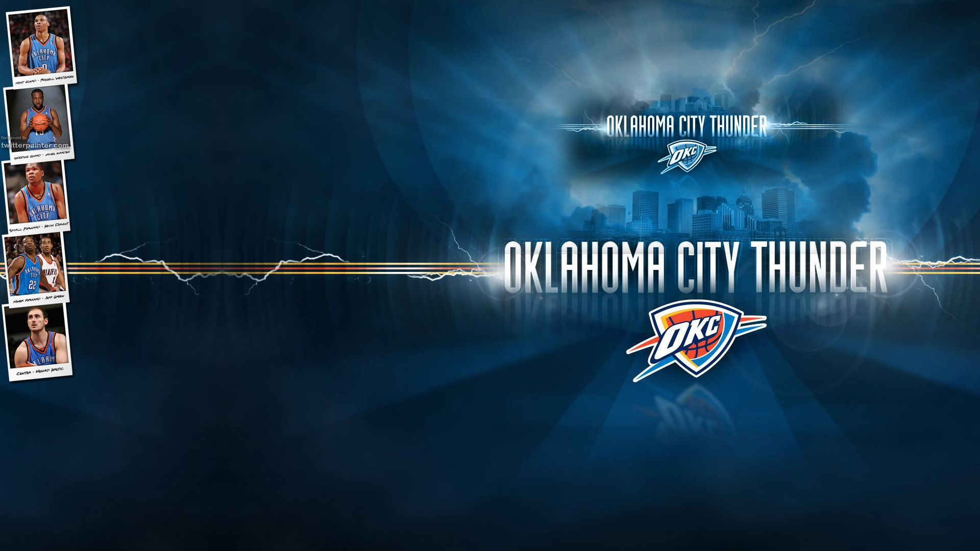30 Oklahoma City Thunder Wallpaper By Eir Lewton Goldwallpapers