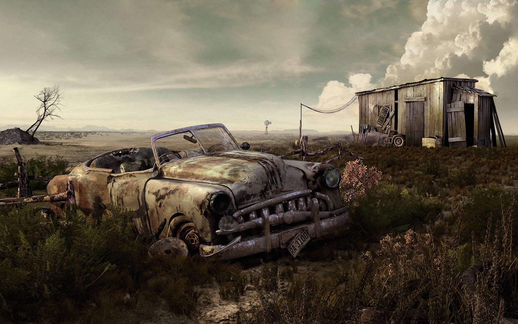 Widescreen Images Collection Of Old Car: Harri Boulding