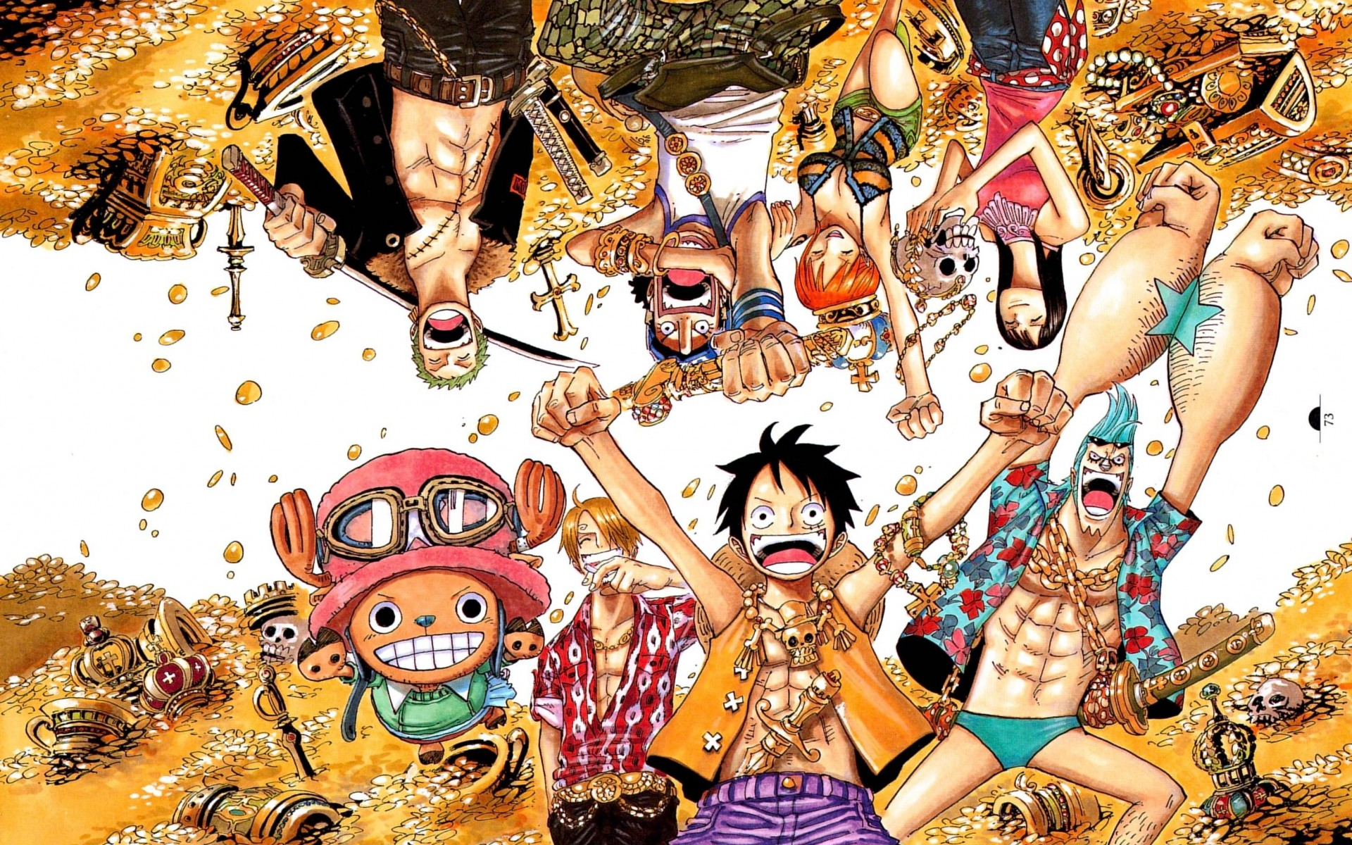 one piece all characters wallpaper hd