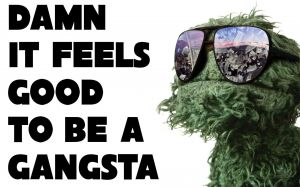 Oscar The Grouch Wallpaper