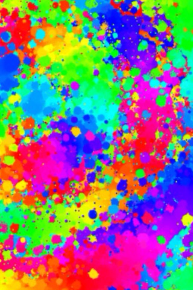 Paint Splash Wallpaper for Ipad