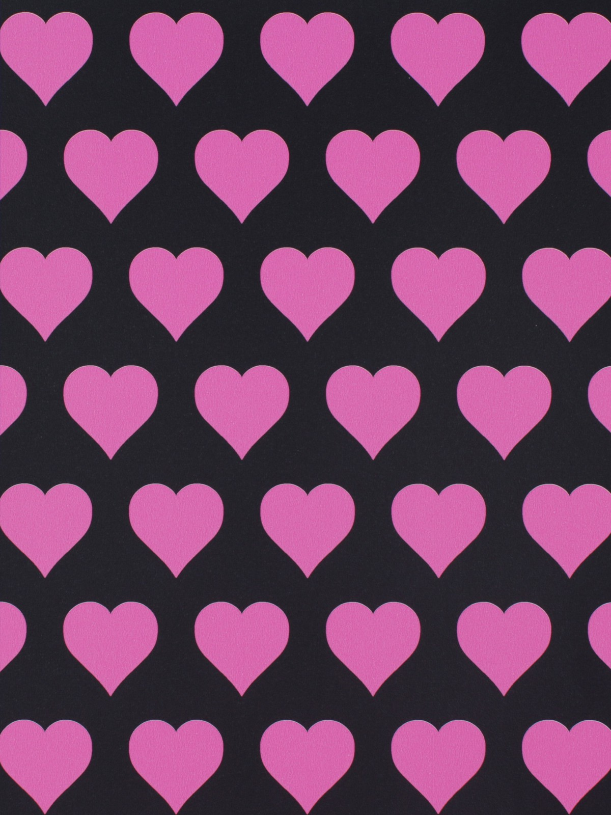 Free Newest Pink And Black Hearts Wallpaper