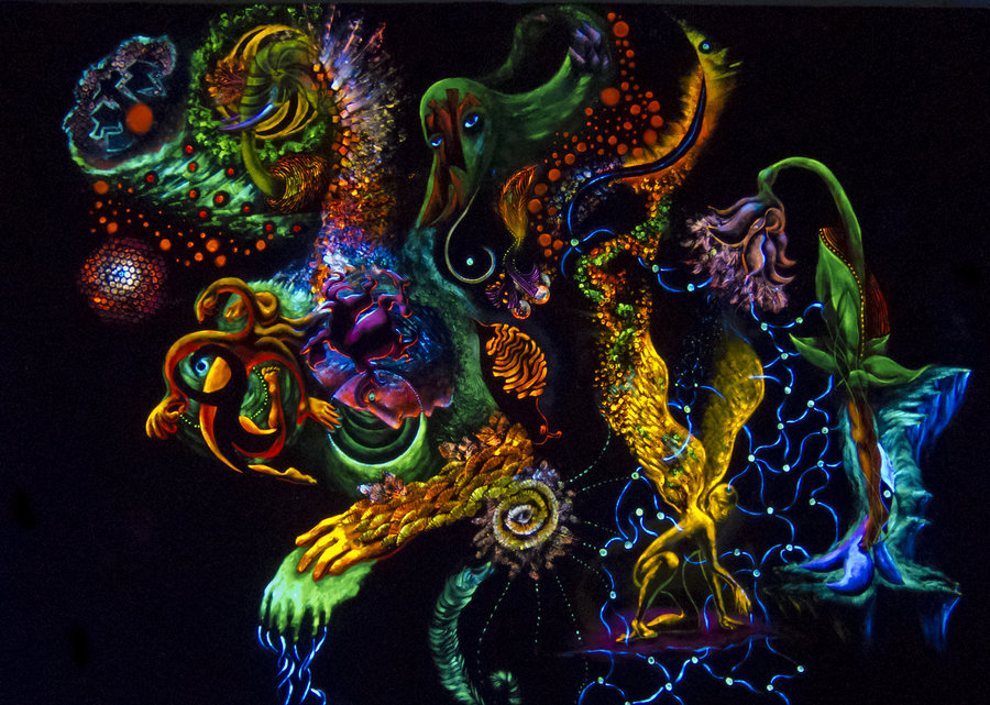 Trippy Psychedelic Images Of Lord Shiva