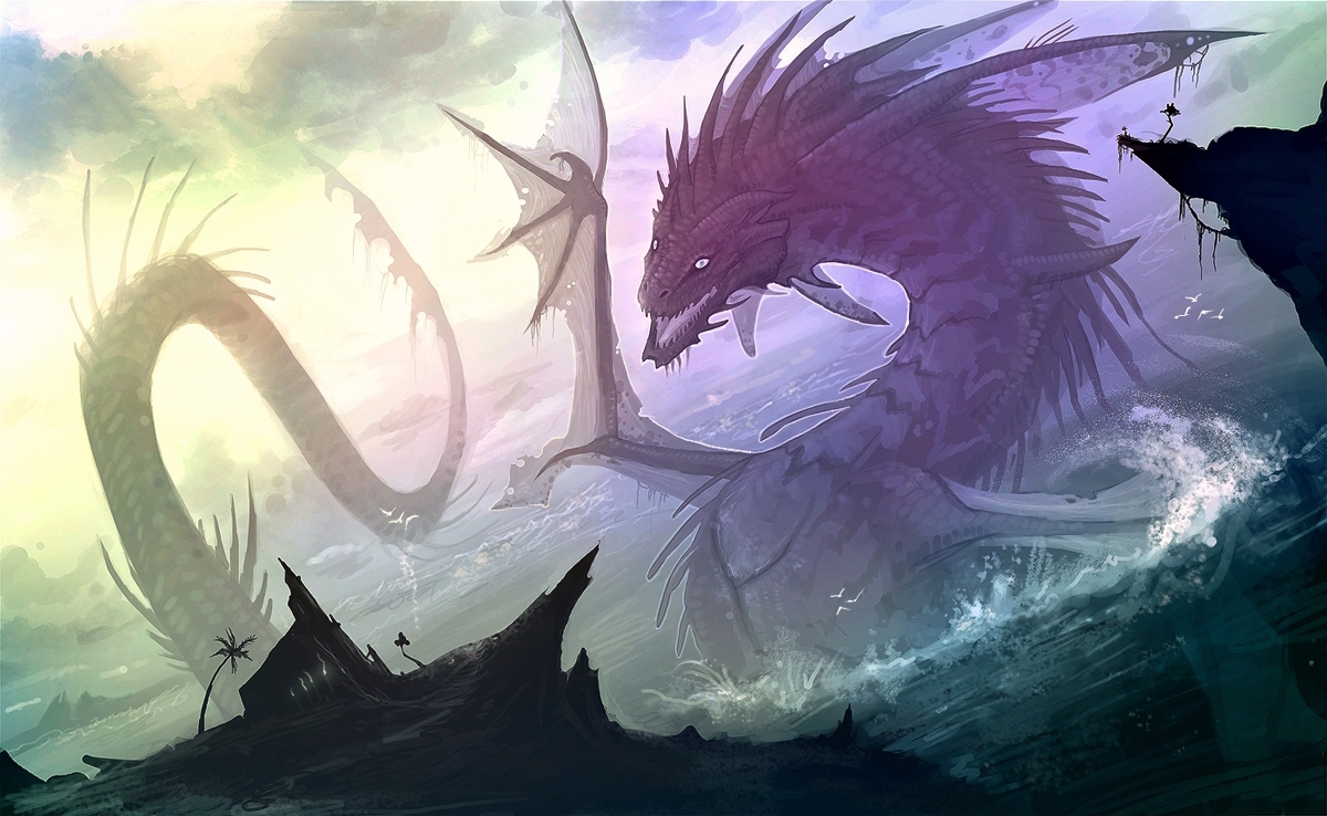 Purple Dragon Photo Free Download By Aristodemos Bonwell