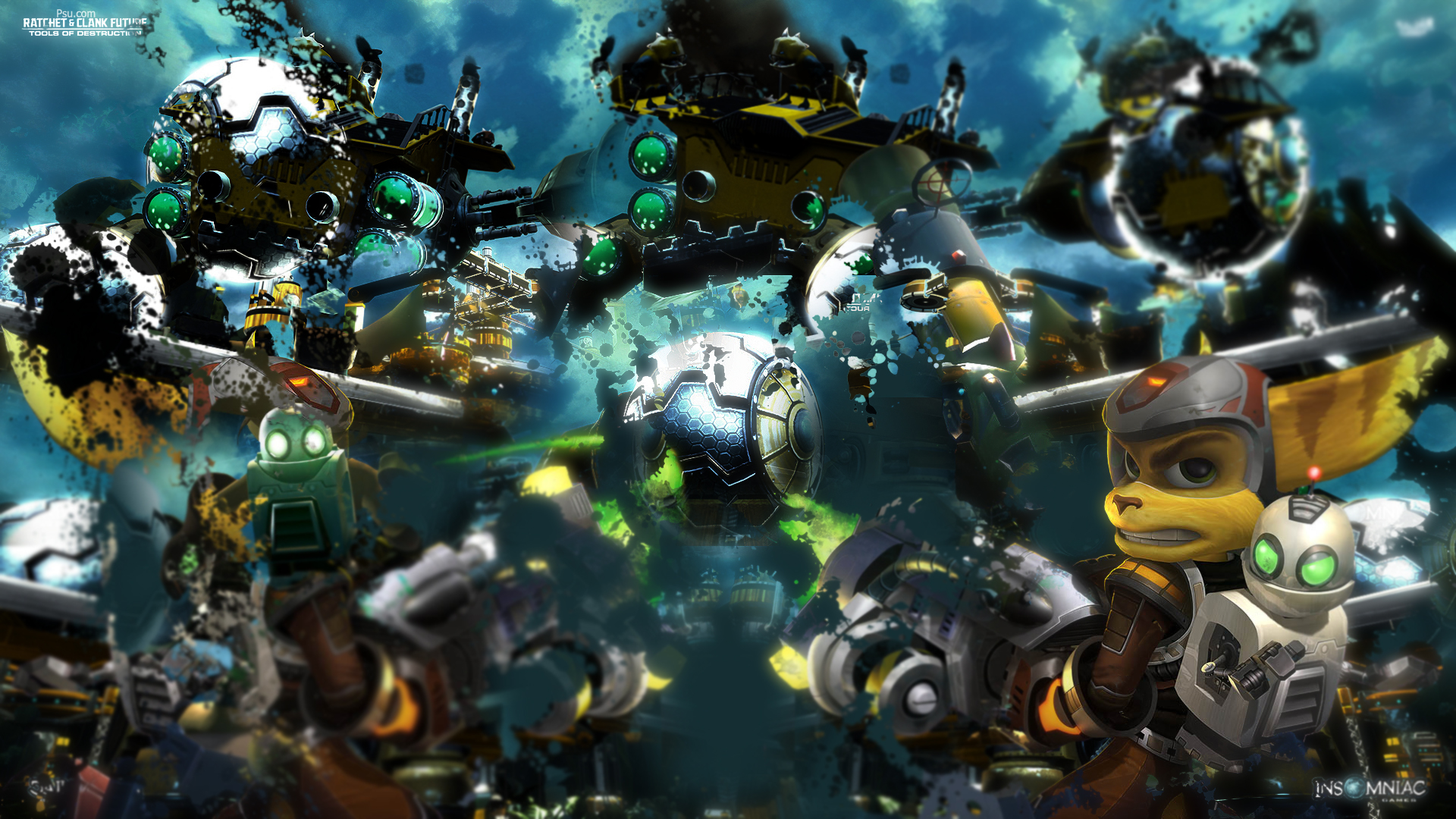 Widescreen Wallpapers Of Ratchet And Clank Adorable Picture