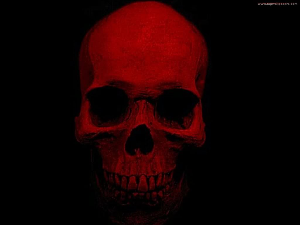 16 Beautiful Red Skulls Wallpapers High Definition